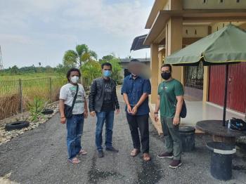 Kasus Teror Jaksa, Politisi di Pekanbaru ditangkap saat Kabur
