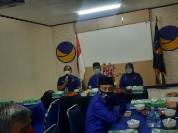 DPW NasDem Riau Beberkan Agenda Raker Politik Usai Lebaran