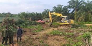 Tak Sesuai Putusan MA, 1.323 Sisa Lahan Sawit Desa Gondai Pelalawan Gagal Dieksekusi
