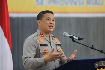 Kapolda Riau ingin perkembangan Covid19 cepat ditanggapi