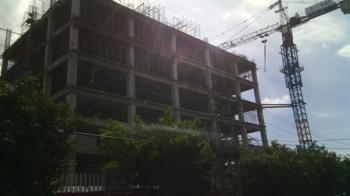 Polisi: Korban dari Gedung Telkom Pekanbaru Alami Patah Kaki