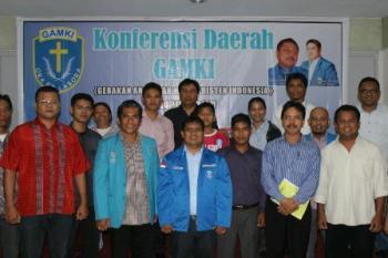 Jalankan GAMKI, Jhon Girsang jadi Ketua Pemuda Kristen di Riau