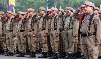 Meski Hanya 399 Personil, Satpol PP Pekanbaru Siap Tempur