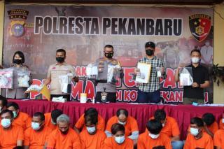 Polresta Pekanbaru Bakal Selidiki Dalang Preman Yang Catut Nama Ormas