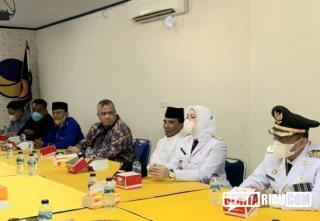 Bupati Termuda di Indonesia kunjungi DPW NasDem Riau usai dilantik, Rezita: Terimakasih..