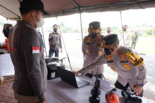 Kabaharkam Puji Inovasi Polda Riau, Tangani Karhutla