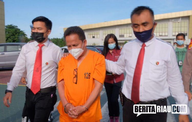 Kasus Rapid Tes, Kadiskes Meranti dr Misri Hasanto Ditahan Polisi