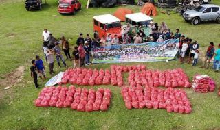 TLCI #2 Riau Salurkan Bansos Dan Gerakkan Perekonomian Warga Desa Binaan