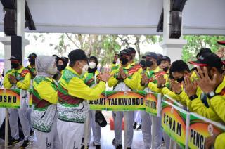 Pastikan Keamanan Atlet Riau, 30 Personel Brimod Ikut ke Papua