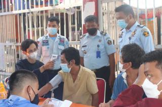 Warga Binaan Lapas Pekanbaru Terima Vaksin Dosis ke-2