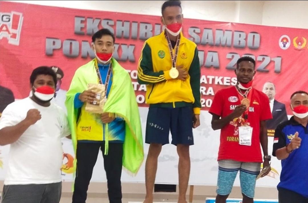 Atlet Sambo Riau Sabet 4 Medali Emas dan 1 Perak