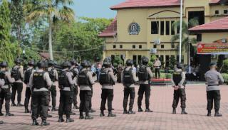 Amankan Blok Rokan, Kapolda Riau Pimpin Gelar Apel Patroli Berskala Besar