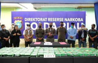 Kapolda Riau: Kita Takkan Pernah Berhenti Buru Pelaku Narkoba!