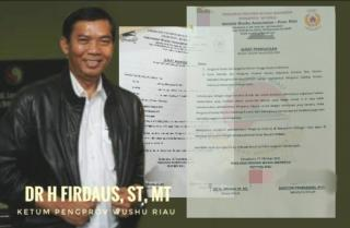 5 Tahun Vakum, Pengprov Wushu Riau Cabut Mandat Pembentukan Pengkab Inhu