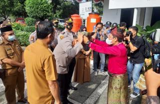 Sosialiasi Aplikasi Tanjak, Kapolresta Pekanbaru Silaturahmi dengan Tokoh & Camat