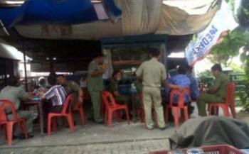 Asyik Ngopi, Empat PNS Dibekuk Satpol PP Pekanbaru