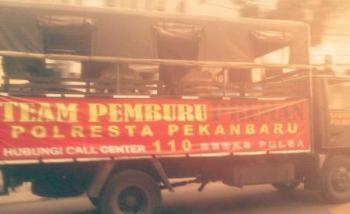 Kapolresta Pekanbaru : Yang Merasa Preman, Menyingkir !