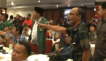Ketua Laskar Melayu Raja Efendi Bantah Diusir Bupati Inhu