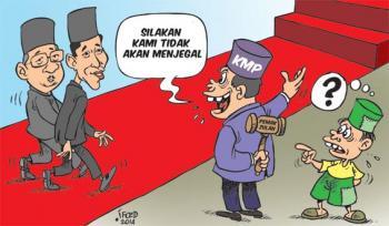 Inilah Jadwal Pelantikan Jokowi JK dan Info Lalu Lintas Hari Ini