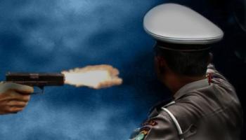 Doorrr !! Polisi di Polda Kepri Ini Tembak Kepalanya Sendiri