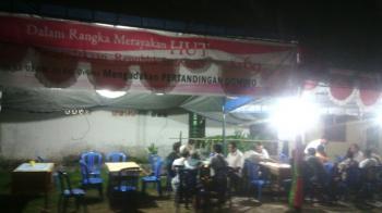 Hari Merdeka, Warga Kelurahan Delima Pekanbaru Tanding Domino
